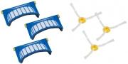 Set AeroVac filtrov in krtač