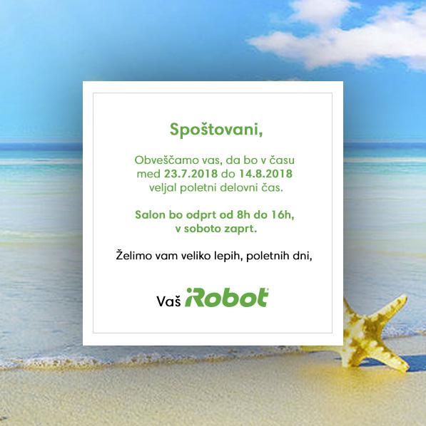 iRobot poletni delovni čas