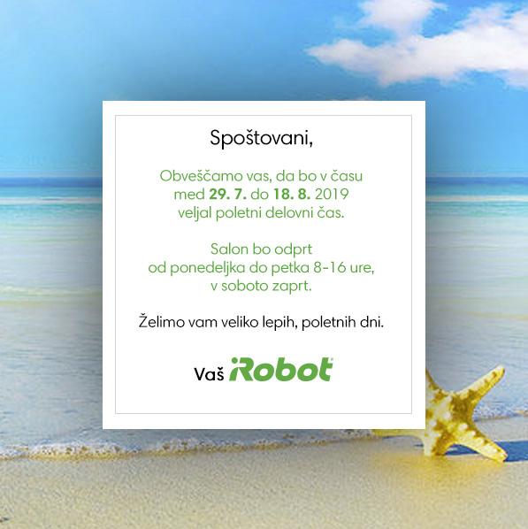 iRobot popup