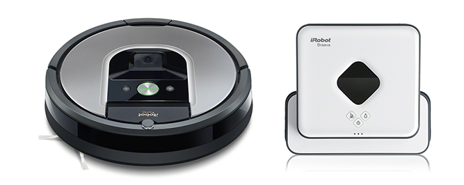 Komplet Roomba 975 & Braava 390t