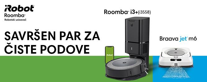 Roomba i3+ (i3558) & Braava jet m6