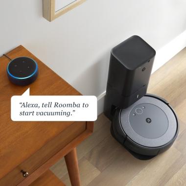 očisti preko aplikacije iRobot