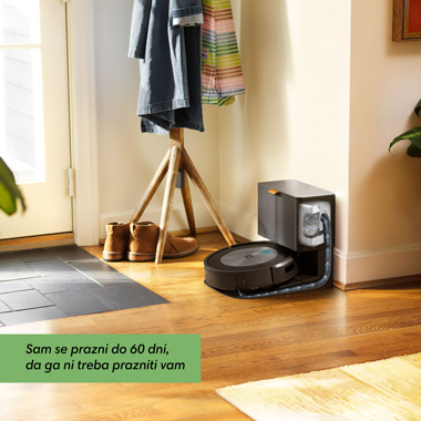 Roomba j7 trenutku posesa umazanijo