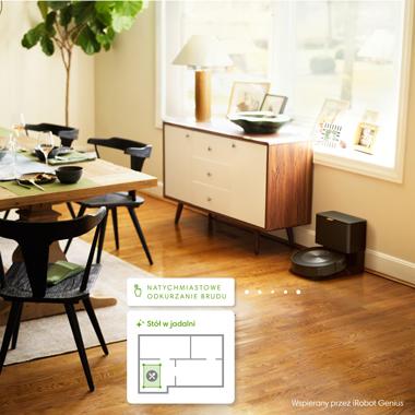 Roomba® j7 se nauči vaših navad čiščenja