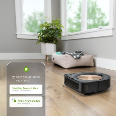 Robotski sesalnik Roomba® s9 se nauči vaših navad čiščenja